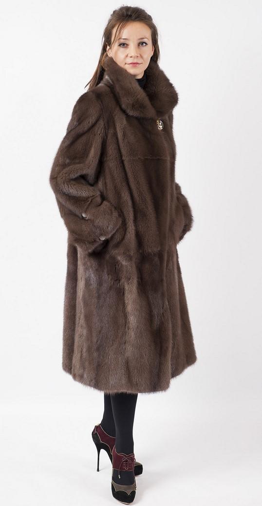 Арт.557. Пальто из скандинавской норки. Цена 140 000 руб.