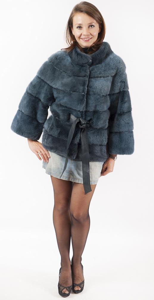 "Арт.560. Куртка и скандинавской норки .Производство Греция, ""Emfasy"". Цена 118 000 руб."