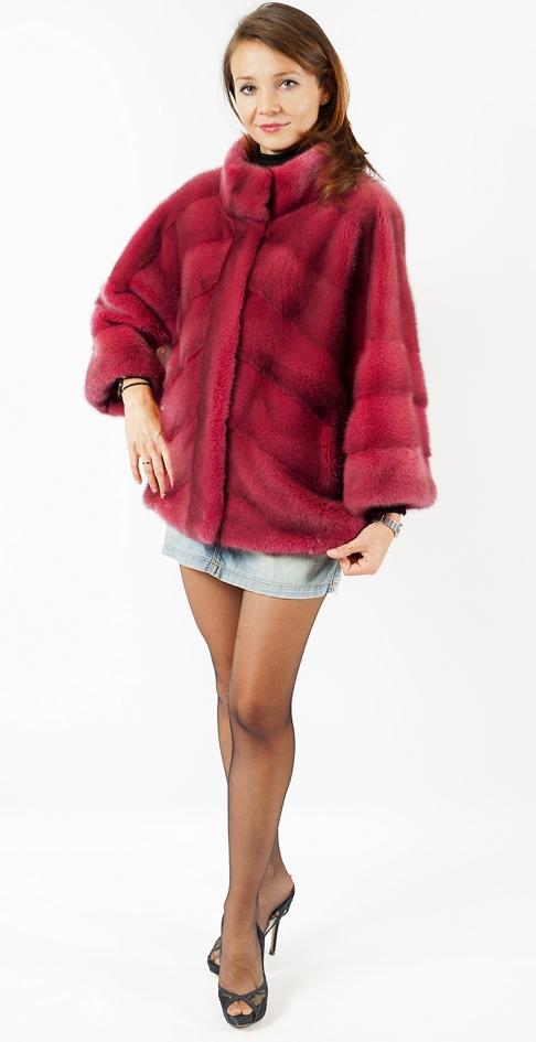 """Арт. 565. Куртка из скандинавской норки. Пр-во Греция, """"Vassou Papadamou"""". Цена 120 000 руб."""